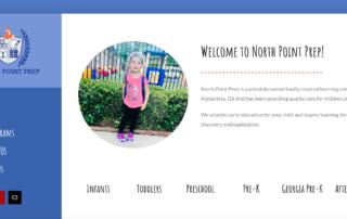 homepage screen shot